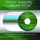 Investment Education Seminar CD Set